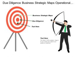 Due Diligence Business Strategic Maps Operational Management Execution Cpb
