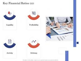Due Diligence For Deal Execution Key Financial Ratios Ppt Guidelines