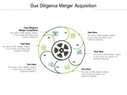 Due Diligence Merger Acquisition Ppt Powerpoint Presentation Show Clipart Images Cpb