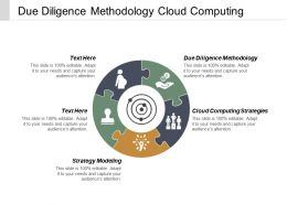 Due Diligence Methodology Cloud Computing Strategies Strategy Modelling Cpb