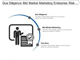 Due Diligence Mid Market Marketing Enterprise Risk Management Cpb