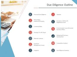 Due Diligence Outline Business Purchase Due Diligence Ppt Inspiration