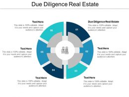 Due Diligence Real Estate Ppt Powerpoint Presentation Layouts Graphics Cpb