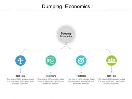 Dumping Economics Ppt Powerpoint Presentation Model Guidelines Cpb