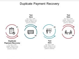 Duplicate Payment Recovery Ppt Powerpoint Presentation Portfolio Demonstration Cpb