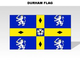 Durham Country Powerpoint Flags