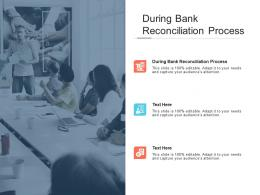 During Bank Reconciliation Process Ppt Powerpoint Presentation Slides Brochure Cpb