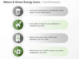 dustbin_house_recycle_power_generation_ppt_icons_graphics_Slide01