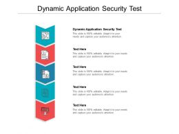 Dynamic Application Security Test Ppt Powerpoint Presentation Slides Smartart Cpb