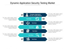 Dynamic Application Security Testing Market Ppt Powerpoint Presentation Slides Example File Cpb
