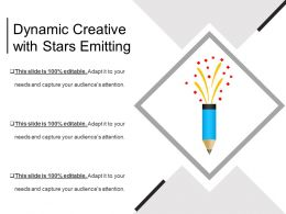 Dynamic Creative With Stars Emitting