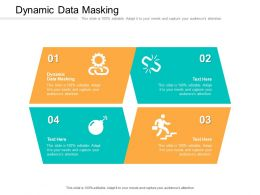 Dynamic Data Masking Ppt Powerpoint Presentation Infographic Template Smartart Cpb