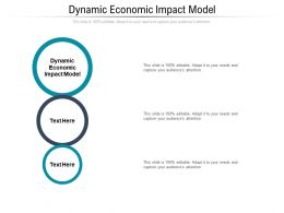 Dynamic Economic Impact Model Ppt Powerpoint Presentation Outline Backgrounds Cpb