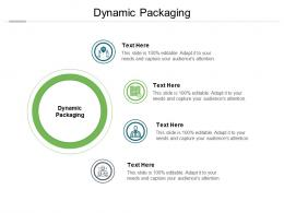 Dynamic Packaging Ppt Powerpoint Presentation Styles Design Templates Cpb