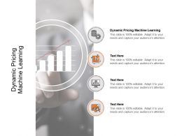 Dynamic Pricing Machine Learning Ppt Powerpoint Examples Cpb