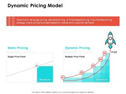Dynamic Pricing Model Ppt Powerpoint Presentation Ideas Show