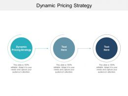Dynamic Pricing Strategy Ppt Powerpoint Presentation Infographic Template Clipart Cpb