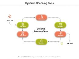 Dynamic Scanning Tools Ppt Powerpoint Presentation Slides Pictures Cpb