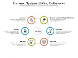 Dynamic Systems Shifting Bottlenecks Ppt Powerpoint Presentation Portfolio Layout Ideas Cpb