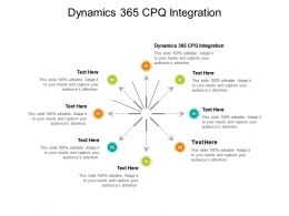 Dynamics 365 CPQ Integration Ppt Powerpoint Presentation Slides Master Slide Cpb