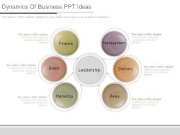 Dynamics Of Business Ppt Ideas