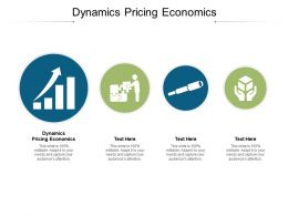 Dynamics Pricing Economics Ppt Powerpoint Presentation Pictures Backgrounds Cpb