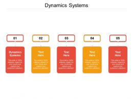 Dynamics Systems Ppt Powerpoint Presentation Model Infographic Template Cpb