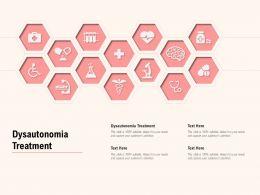 Dysautonomia Treatment Ppt Powerpoint Presentation Clipart