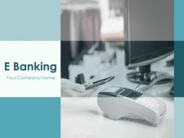E Banking Powerpoint Presentation Slides