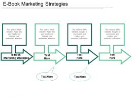 E Book Marketing Strategies Ppt Powerpoint Presentation Gallery Graphics Cpb
