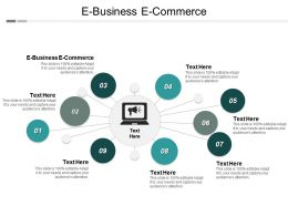 E Business E Commerce Ppt Powerpoint Presentation Infographics Graphics Cpb