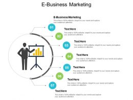E Business Marketing Ppt Powerpoint Presentation Icon Infographic Template Cpb
