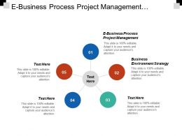 E Business Process Project Management Business Environment Strategy Six Sigma Cpb