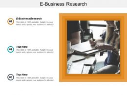 E Business Research Ppt Powerpoint Presentation Infographic Template Background Image Cpb