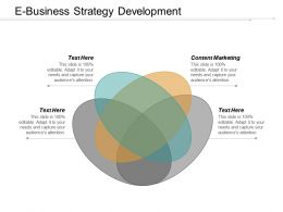 E Business Strategy Development Ppt Powerpoint Presentation File Information Cpb