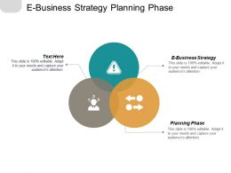 E Business Strategy Planning Phase Benchmarking Key Stakeholders Sales Buy Cpb