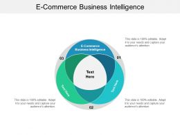 E Commerce Business Intelligence Ppt Powerpoint Presentation Infographic Template Template Cpb