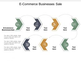 E Commerce Businesses Sale Ppt Powerpoint Presentation Layouts Guide Cpb