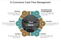 E Commerce Cash Flow Management Ppt Powerpoint Presentation Portfolio Cpb