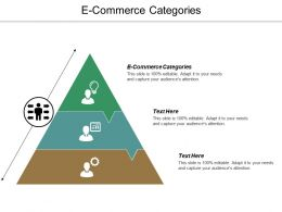 E Commerce Categories Ppt Powerpoint Presentation Summary Outline Cpb