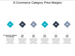 E Commerce Category Price Margins Ppt Powerpoint Presentation File Graphics Tutorials Cpb