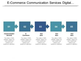 E Commerce Communication Services Digital Marketing Seo Optimization Business Administration Cpb