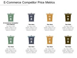 E Commerce Competitor Price Metrics Ppt Powerpoint Presentation File Master Slide Cpb