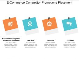 E Commerce Competitor Promotions Placement Ppt Powerpoint Presentation Guidelines Cpb