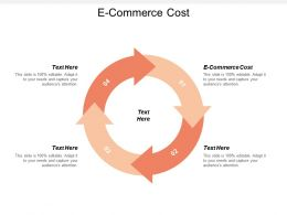 E Commerce Cost Ppt Powerpoint Presentation File Vector Cpb