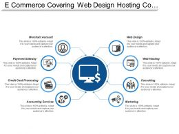 E Commerce Covering Web Design Hosting Consulting Marketing Accounting Services