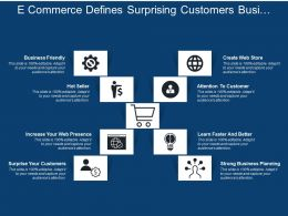 E Commerce Defines Surprising Customers Business Friendly Web Presence