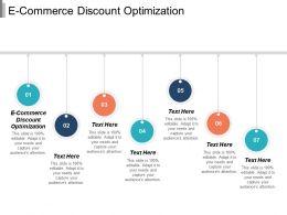 E Commerce Discount Optimization Ppt Powerpoint Presentation File Topics Cpb