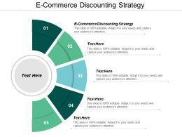 E Commerce Discounting Strategy Ppt Powerpoint Presentation Gallery Design Inspiration Cpb