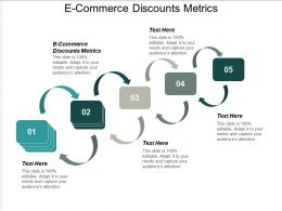 E Commerce Discounts Metrics Ppt Powerpoint Presentation Infographic Template Introduction Cpb